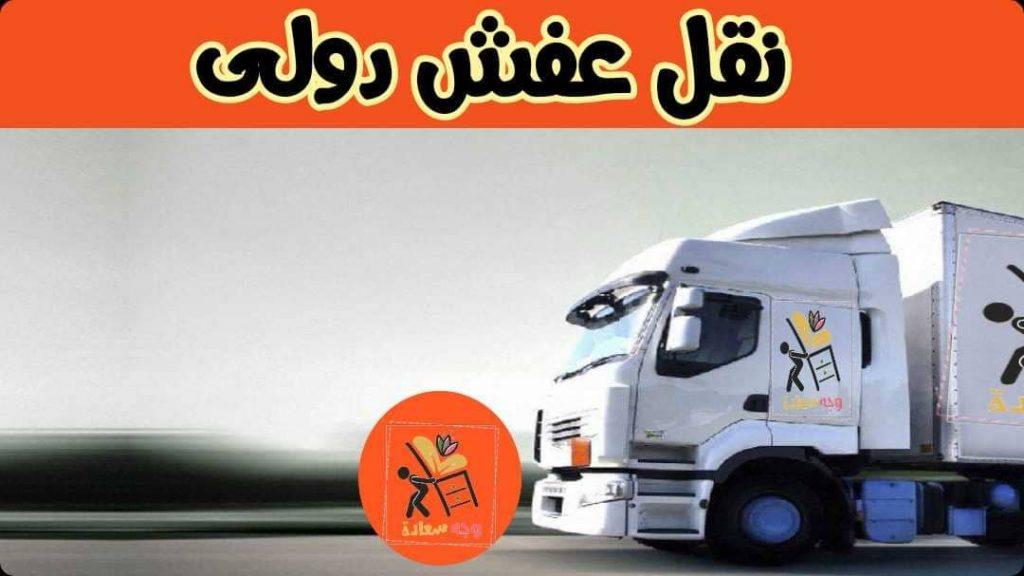 نقل عفش دولي
